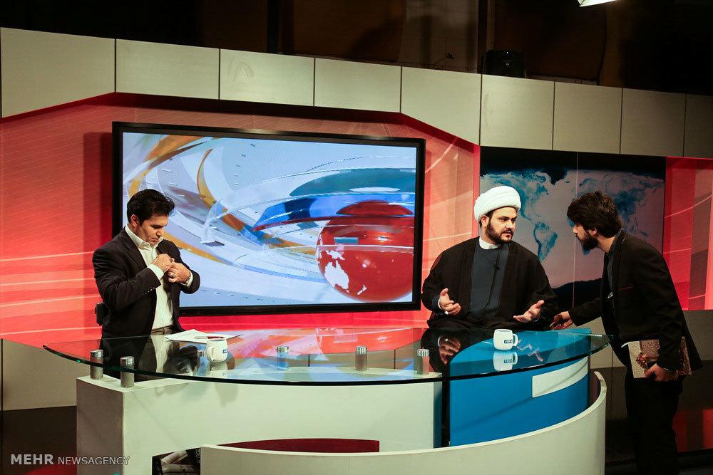 حضور دبیرکل مقاومت اسلامی نجباء در برنامه زنده شبکه الکوثر