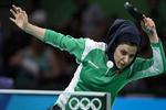 رياضية إيرانية تتأهل لدور الربع النهائي لألعاب تنس الطاولة