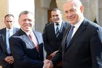 نتانیاهو و عبدالله دوم