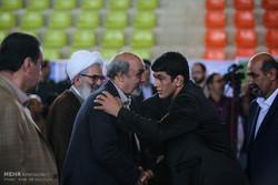 سفر محمود گودرزی وزیر ورزش و جوانان به جویبار پایتخت کشتی ایران