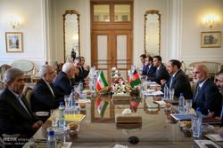 دیدار وزرای خارجه ایران و افغانستان