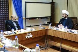 Nujaba SG meets with IRIB head