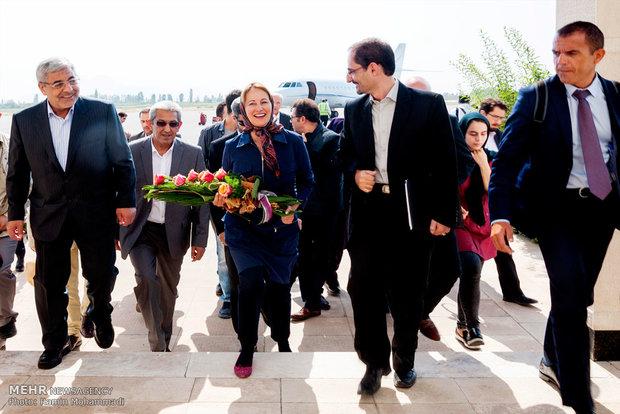 Fransa Çevre Bakanı Urmiye'ye geldi