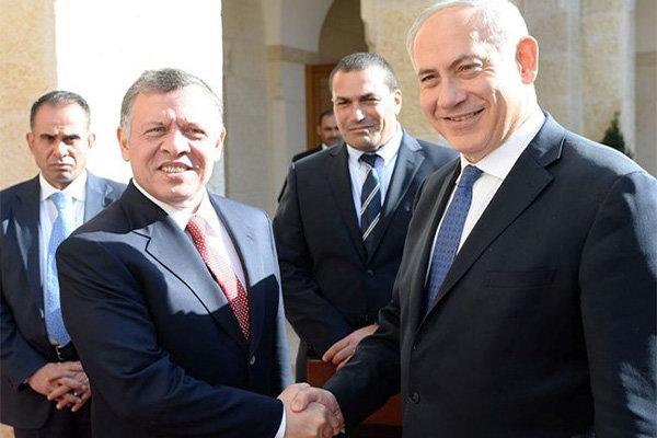نتانیاهو در «امان» با پادشاه اردن دیدار کرد