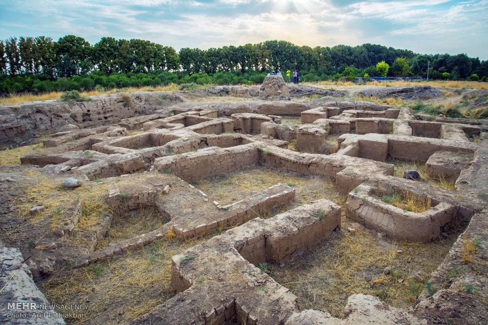 جشن رونمایی از محوطه باستانی ازبکی
