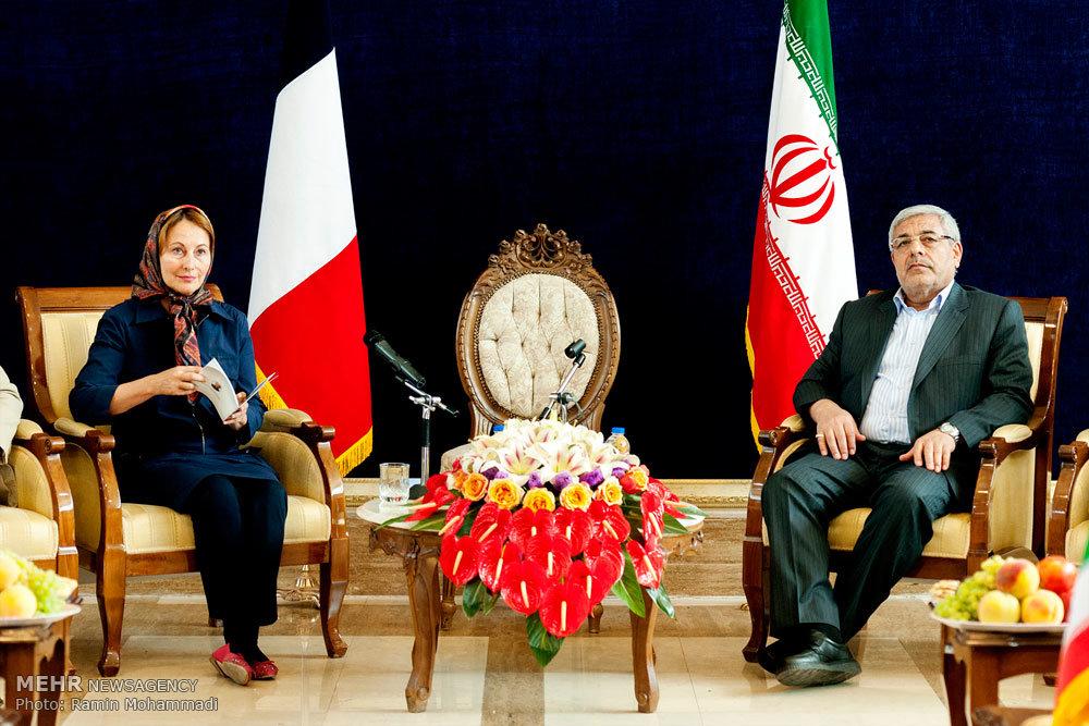 سفر وزیر محیط زیست فرانسه به ارومیه