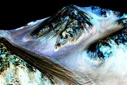 مریخ کم آب است