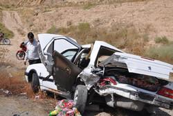 دو حادثه در جادههای خراسان رضوی دو کشته و ۱۱ مجروح  برجای گذاشت