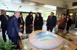 بازدید مولاوردی از استادیوم ۴۰ هزار نفری بانوان