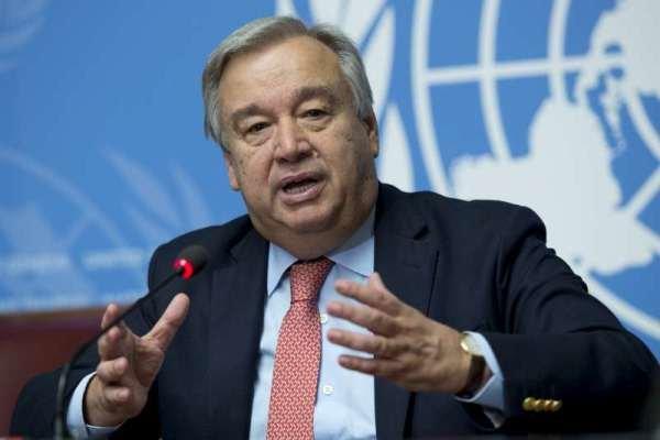 الأمين العام للأمم المتحدة يدعو إلى القبول بالحل السياسي للأزمة في سورية