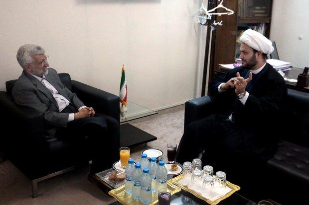 Nujba SG meets with Leader's representative in Tehran