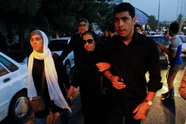 Funeral ceremony of Davoud Rashidi