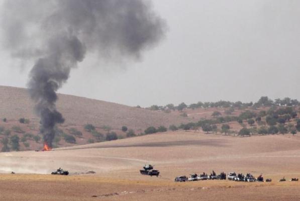 تحرکات ارتش ترکیه در شمال سوریه
