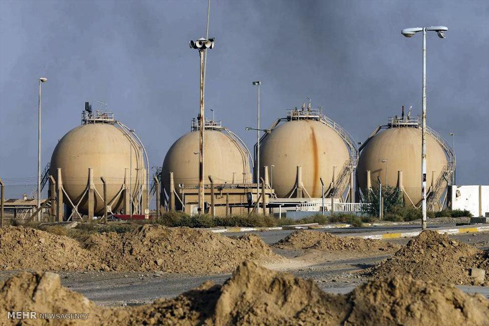 بازپسگیری مناطق نفتی از داعش