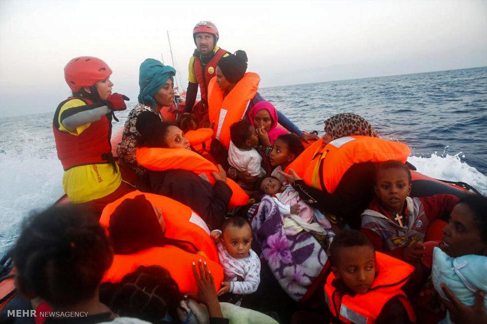 عملیات نجات در مدیترانه
