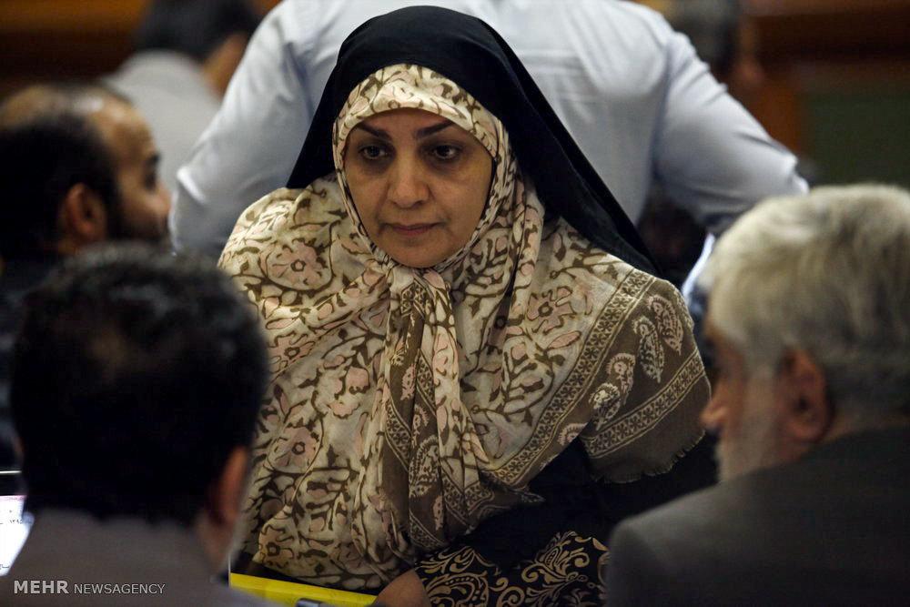 Tehran City Council meeting