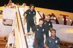 تیم ملی فوتبال قطر وارد تهران شد