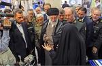 فرمانده معظم کل قوا از نمایشگاه دستاوردهای وزارت دفاع بازدید کردند