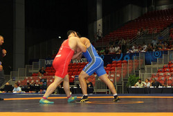 Iranian wrestler bags bronze at Turlykhanov Memorial
