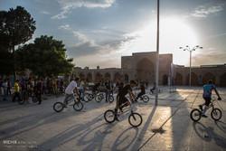 مهرجان قيادة الدراجات الهوائية في قزوين