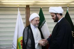 دیدار دبیرکل مقاومت اسلامی نُجَباء با دبیرکل مجمع تقریب مذاهب