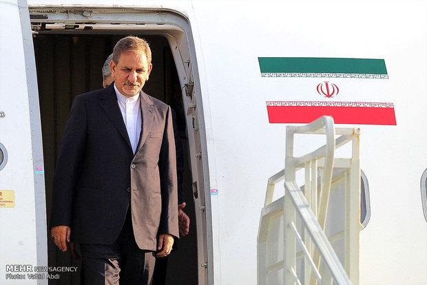 جهانغيري يؤكد حرص طهران وبغداد على تعزيز العلاقات بين البلدين