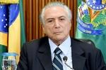 «میشل تمر» به عنوان رئیس جمهور جدید برزیل سوگند یاد کرد