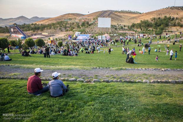 Kazvin'de Uçurtmalar Festivali