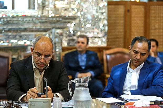 دیدار مدیران عامل بانک های دولتی کشور با علی لاریجانی رئیس مجلس شورای اسلامی