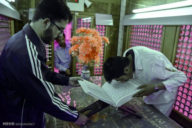 برگزاری مراسم تحویل سال نو در ۹۰ امامزاده تهران