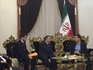 دیدار استاندار خراسان رضوی با وزیر صنعت لبنان