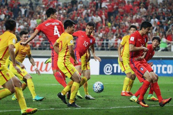 پیروزی نزدیک کرهجنوبی مقابل چین/ ۳ امتیاز در جیب حریف اصلی ایران