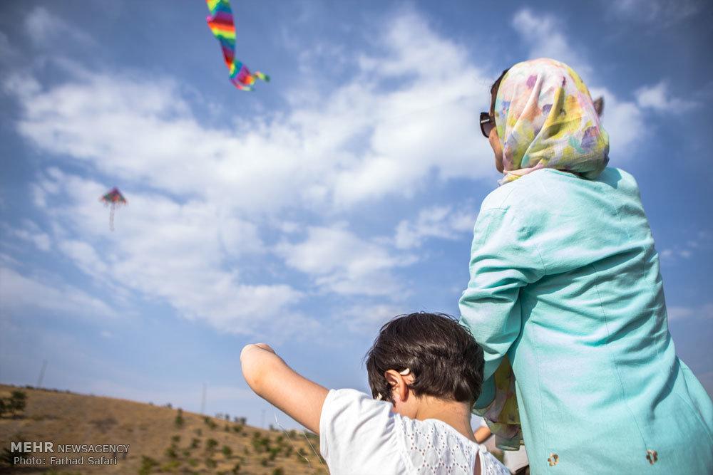 جشنواره بادبادکها در قزوین