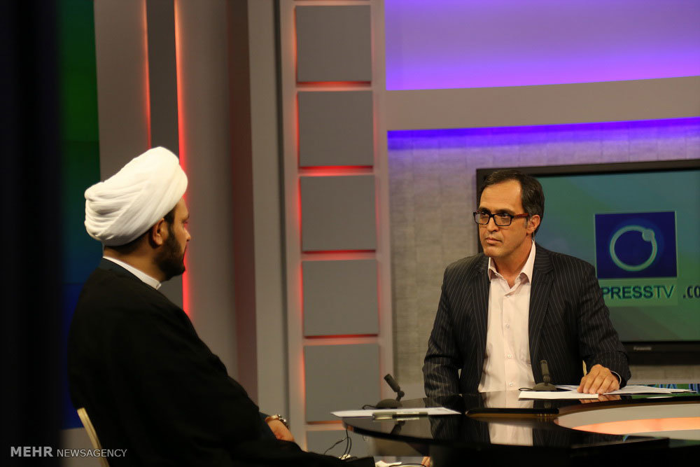 حضوردبیرکل مقاومت اسلامی نُجَباء در شبکه پرس تی وی