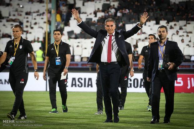 تیم ملی فوتبال ایران, تیم ملی فوتبال کلمبیا, جام ملت های آسیا 2019 امارات, کارلوس کی روش