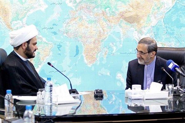 ولايتي : الجمهورية الاسلامية الايرانية لا تقوم بأي عمل بدون اذن من الحكومة العراقية
