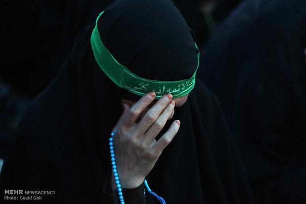 مراسم العزاء بذكرى استشهاد الامام الجواد (ع) في مدينة مشهد المقدسة