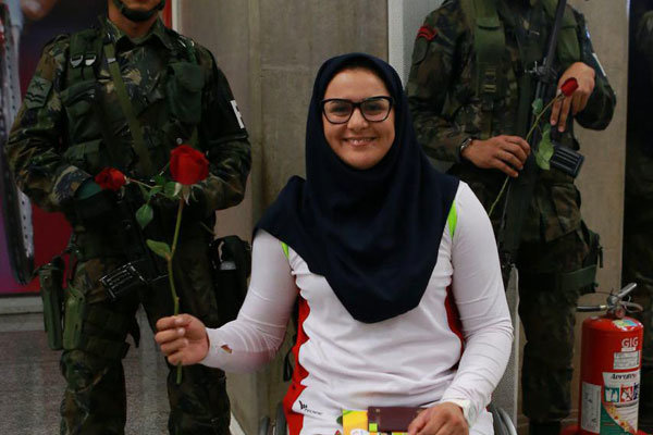 Iranian Paralympic team arrives in Rio