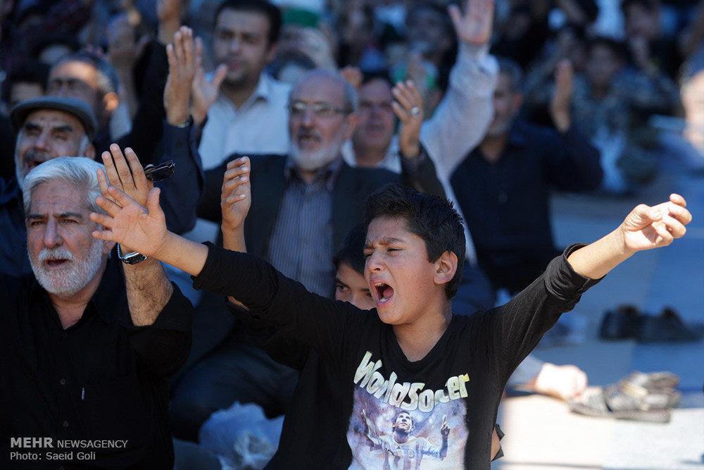 عزاداری شهادت حضرت جواد الائمه (ع) در مشهد مقدس