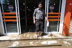 """فيضانات تجتاح محافظة """"كلستان"""" الايرانية"""