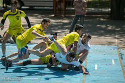 Kabaddi matches in Qazvin