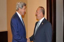 Çavuşoğlu ve Kerry görüştü