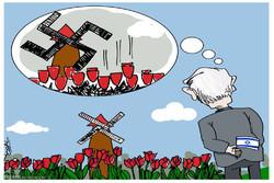 شازترین کاریکاتورهکان؛ سهفهری نتانیاهۆ بۆ هوڵهندا