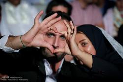 مراسم عقد زواج 500 شاب وشابة في ايران