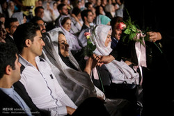 پانچ سو جوان جوڑوں نے شادی  کا جشن منایا