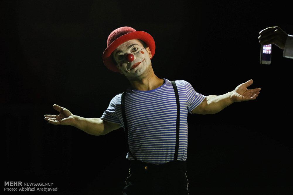 نمایش سیرک ایران و روسیه
