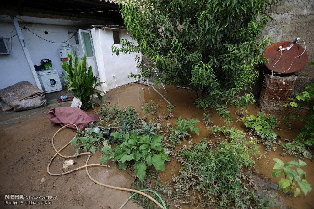 وقوع سیل و خسارت در استان گلستان