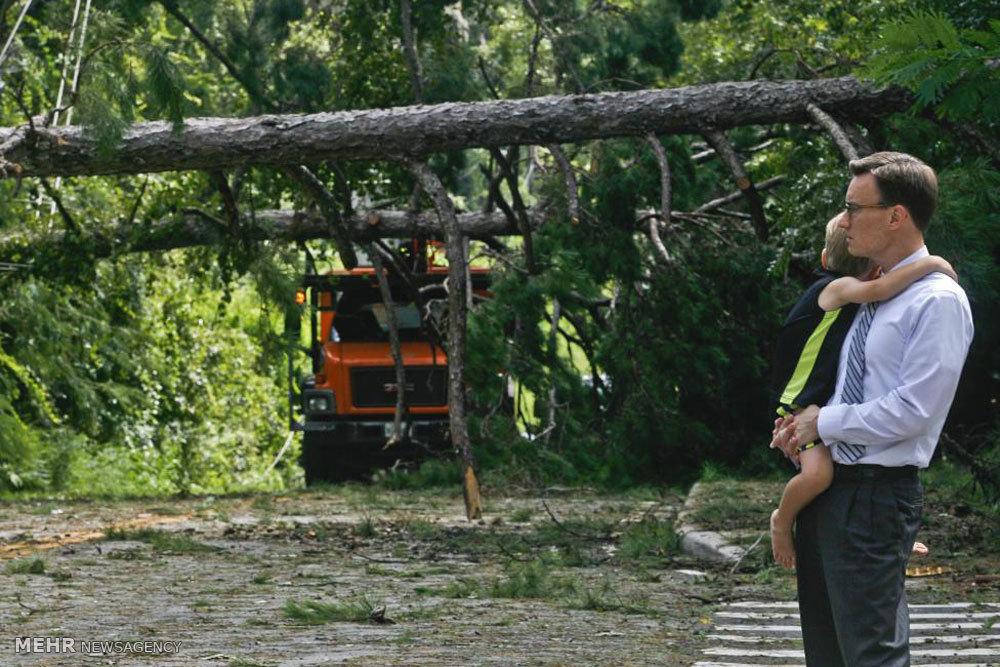 طوفان هرمین در فلوریدا