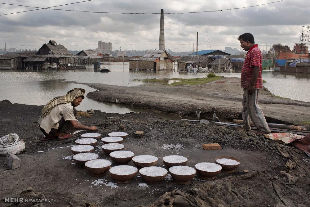بازیافت زباله در بنگلادش