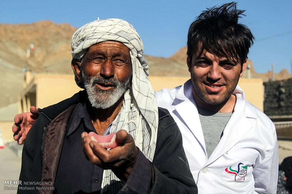 اردوی جهادی دندانپزشکی در روستای لانو
